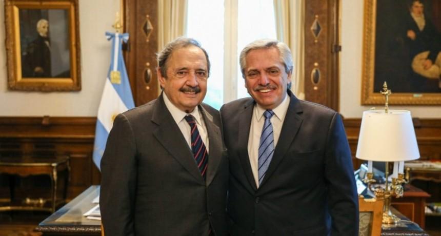 El Presidente recibió a Ricardo Alfonsín, futuro embajador en España