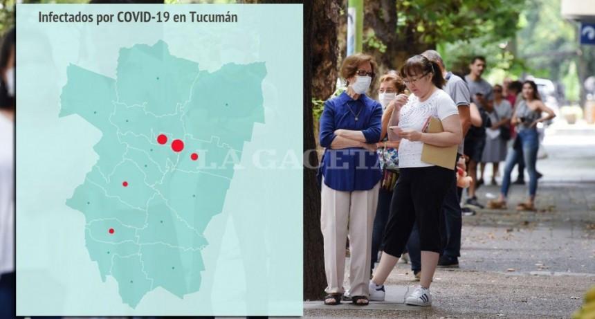 El 43% de los infectados tucumanos por vid-19 vive en la capital