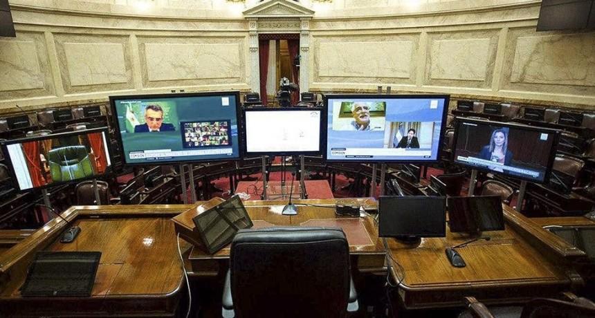 El Senado busca sesionar el miércoles de manera virtual por primera vez en su historia