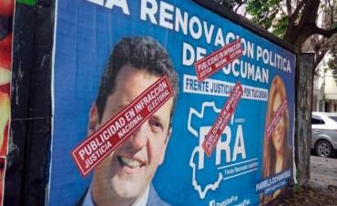 La Justicia Electoral Nacional lleva detectadas seis infracciones por campañas fuera de término