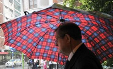 Salí abrigado: Con probabilidad de lluvias la temperatura hoy no superará los 14°C