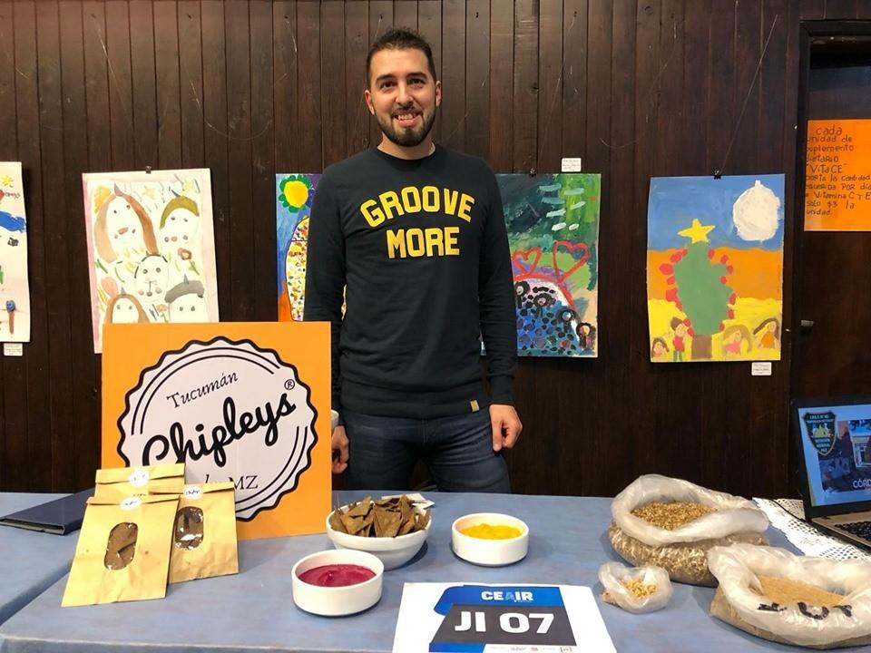 "Estudiante tucumano creó un ""snack"" a base de cerveza"