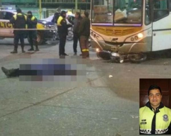 La causa por la muerte del policía Gabriel Diaz fue caratulada como homicidio culposo