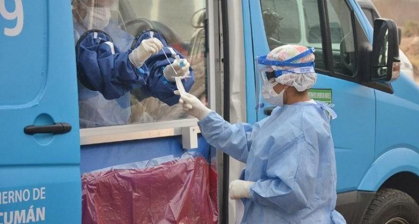 Coronavirus en Tucumán: una muerte y 36 nuevos casos en lo que va del jueves