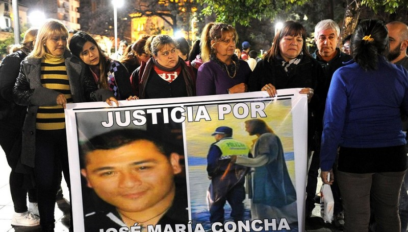 Caso Concha: Una mujer se presentó a declarar y quedó detenida
