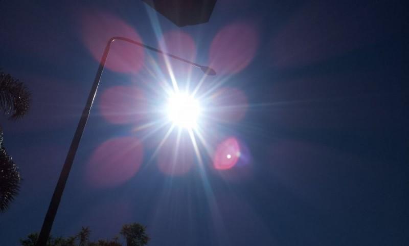 A pleno sol preparate que la máxima hoy rondaría los 36°C