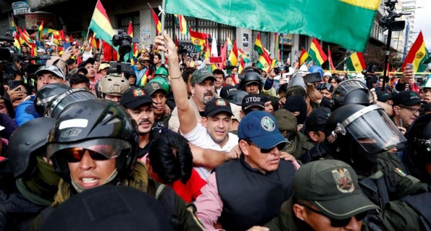 Evo Morales calificó de