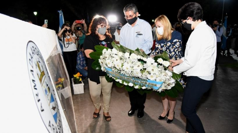 Homenajearon a los tripulantes tucumanos del ARA San Juan